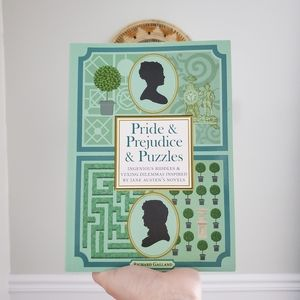 Pride & Prejudice puzzle book